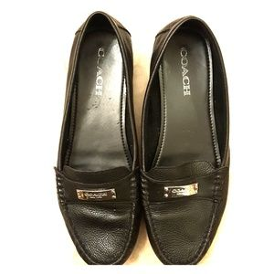 Coach Leather Driving Loafer SZ 10 W
